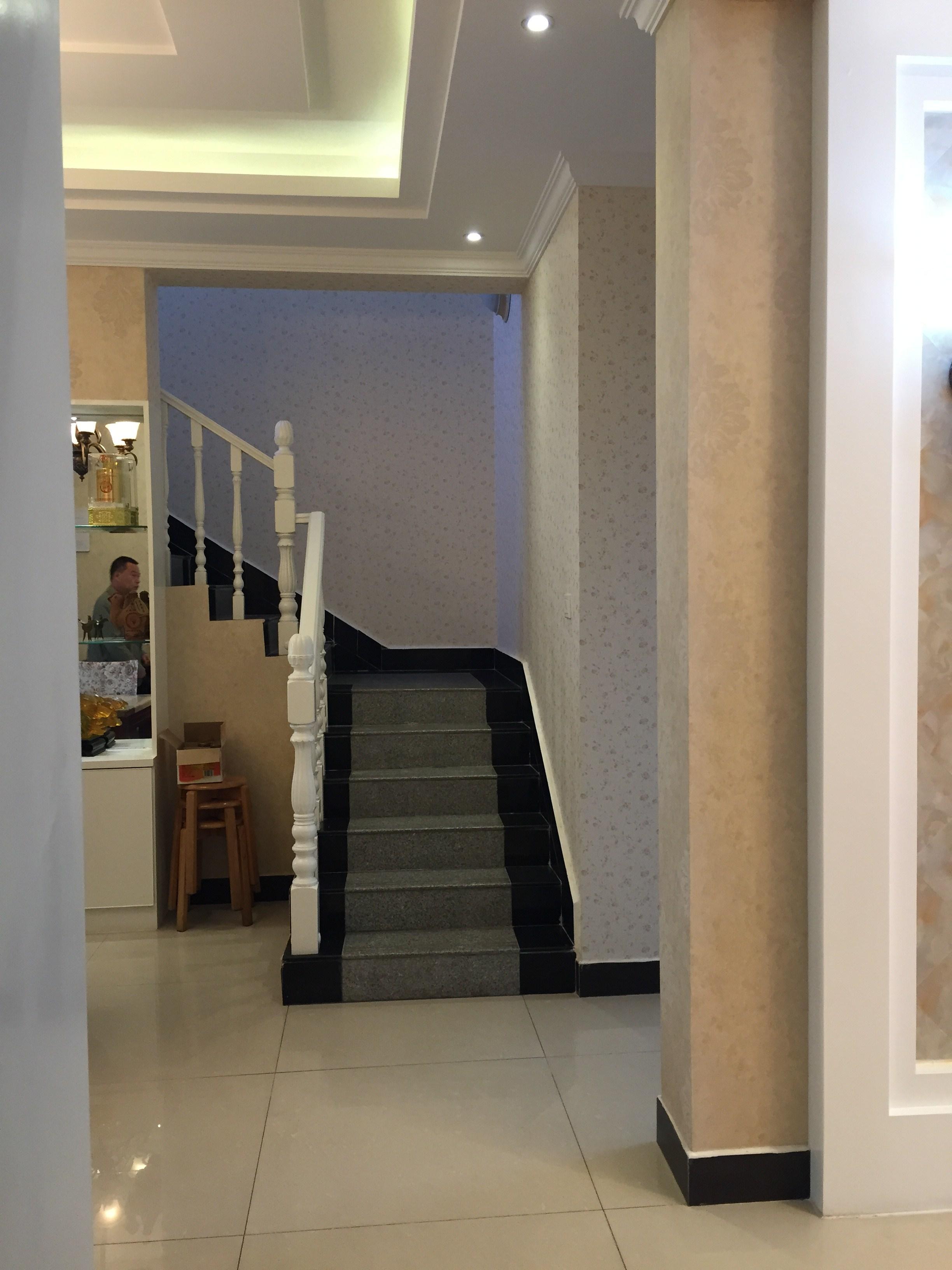 欧式别墅大门台阶图片