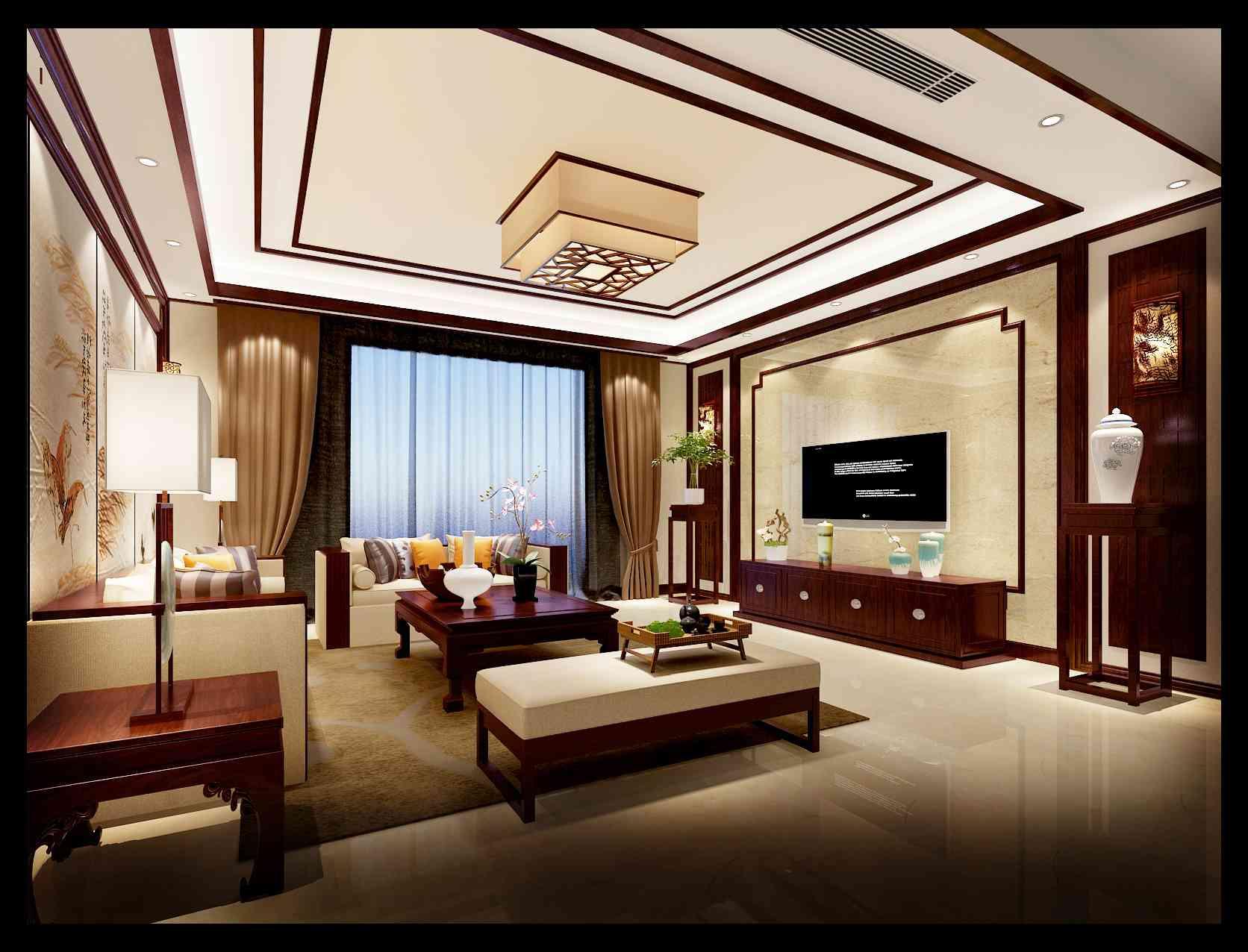 红霞新村 别墅 中式古典