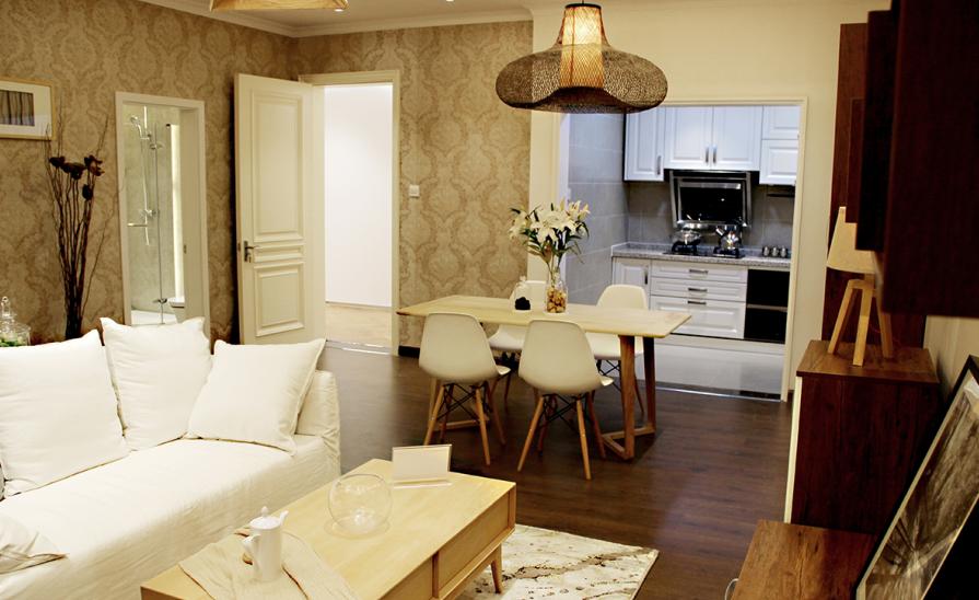 碧桂园 两居室 现代风格 89平米