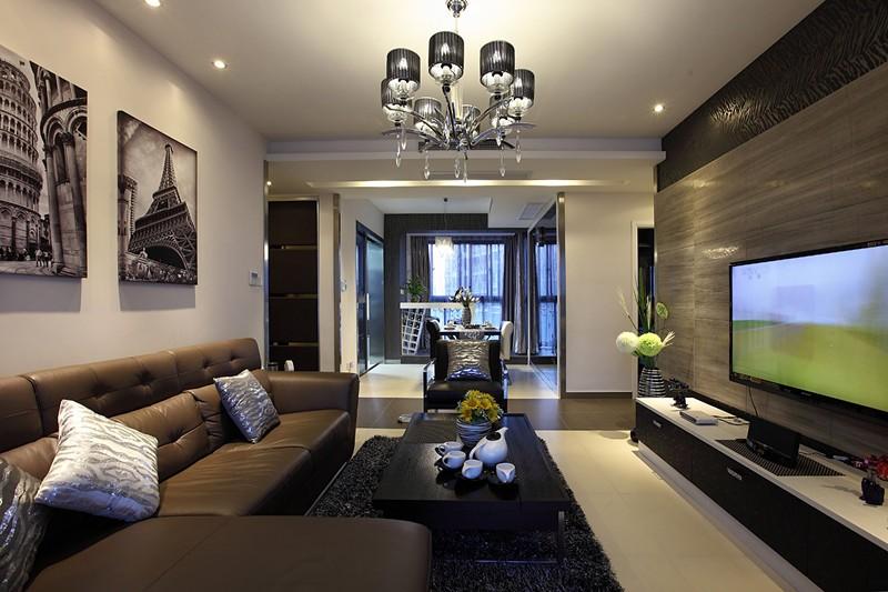 龙阳一号 三居室 现代风格 93平米