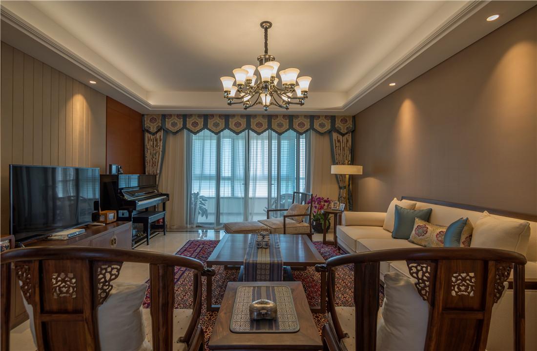 仁恒江湾城 中式古典 四居室 282平米