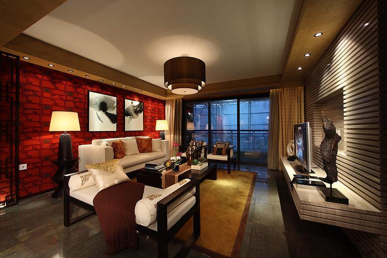 虹桥一号 中式古典 公寓 156平米