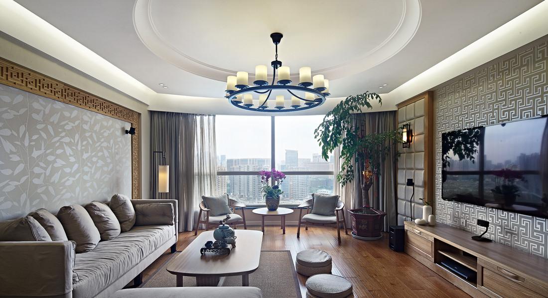 曲江风景线 中式 四居室 128平米