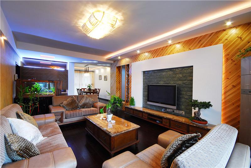 长房星城世家 混搭 三居室 220平米