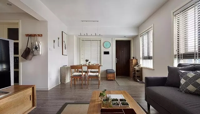 绿地梧桐苑 现代简约 三居室 90平米