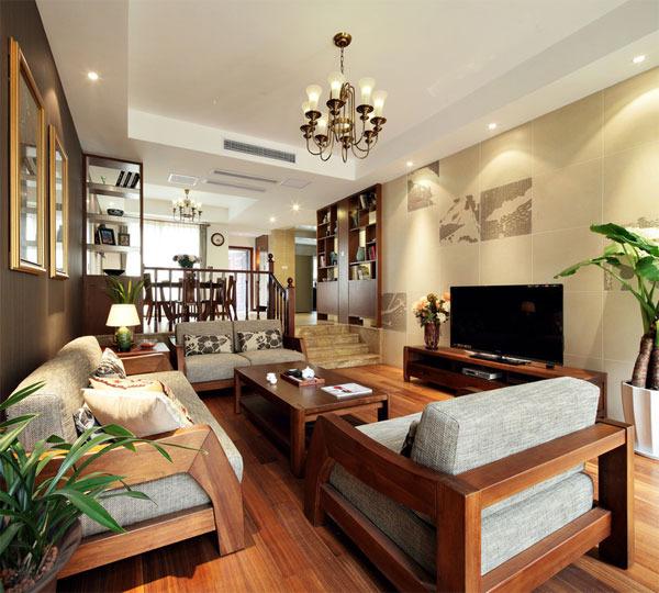 狮城百丽 中式 公寓 250平米
