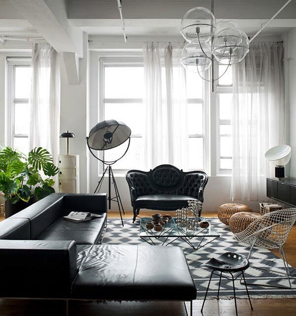 纽约曼哈顿 现代 公寓 105平米