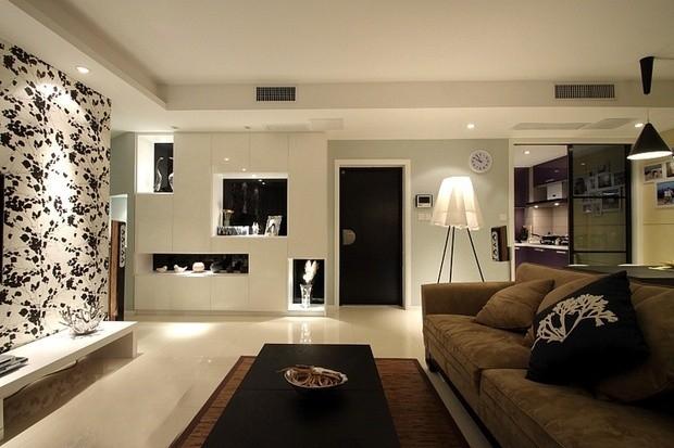 米拉社区 现代 两居室 75平米
