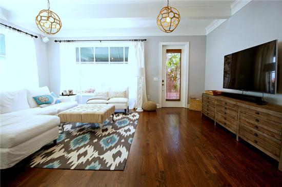 灵动清新 现代 两居室 90平米