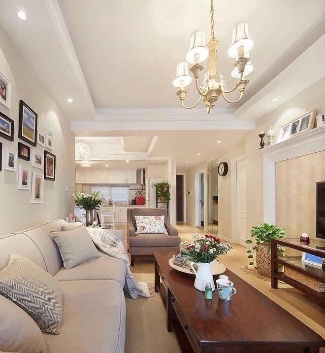 龙湖时代天街 美式 两居室 85平米