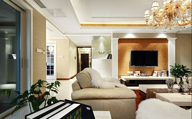 盛世华城 欧式 三居室 160平米