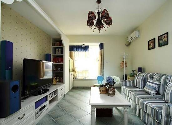 富力杰座 地中海 三居室 72平米